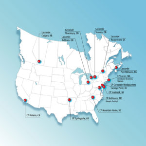 Lassonde Pappas Manufacturing Locations