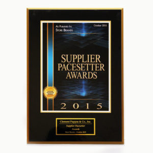 2015 Supplier Pacesetter Award SQUARE1024